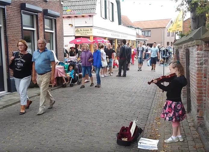 Jaarmarkt in Groede.