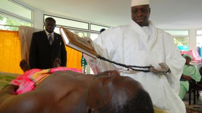 Ex-president/kwakzalver Gambia stal 322 miljoen uit staatskas