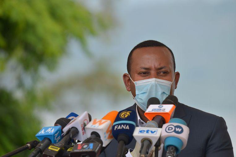 De Ethiopische premier Abiy Ahmed.