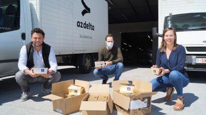 Leonidas schenkt 3.300 paaseitjes aan AZ Delta