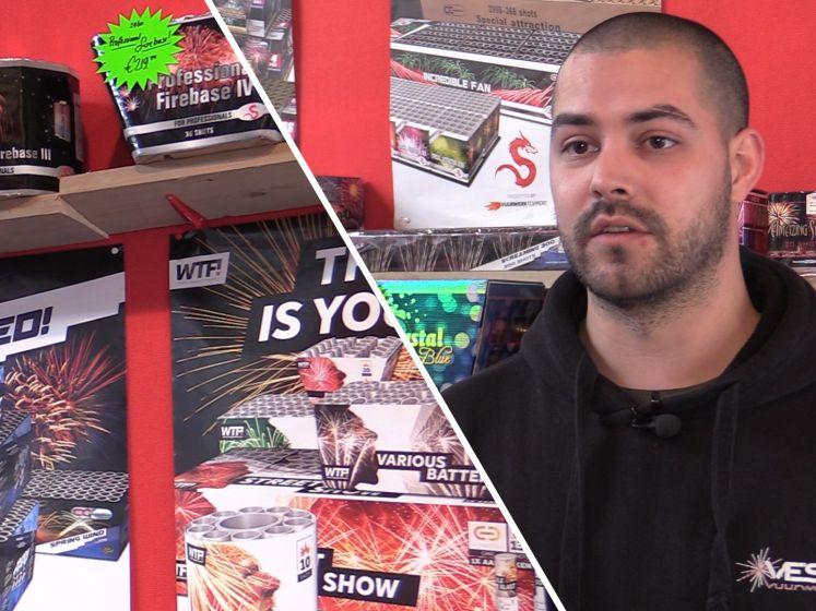 Roosendaalse vuurwerkhandelaar: 'Over een paar jaar houden we niets meer over als het zo doorgaat'