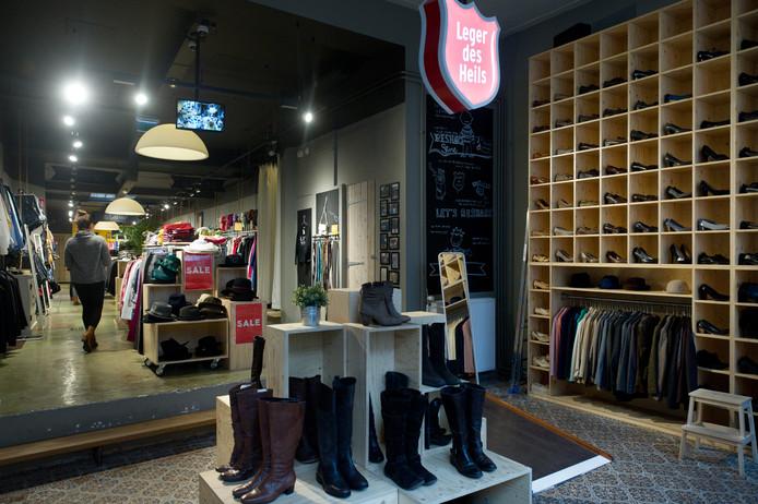 Reshare Store, de tweedehands kledingzaak van het Leger des Heils