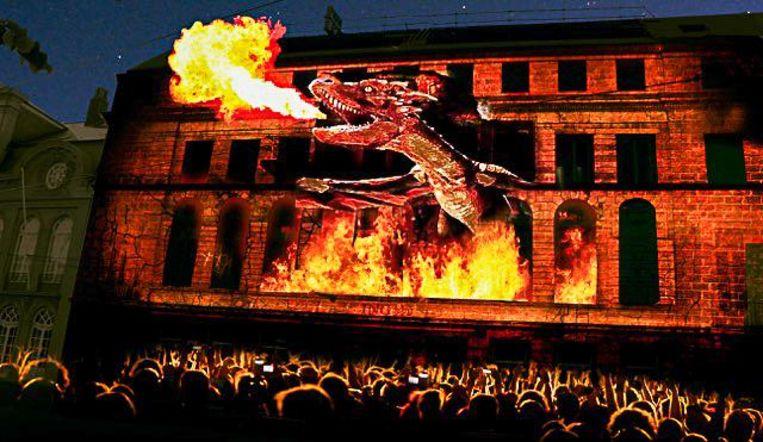 Deze 3D-versie van onze vuurspuwende draak steelt te show in Leeds
