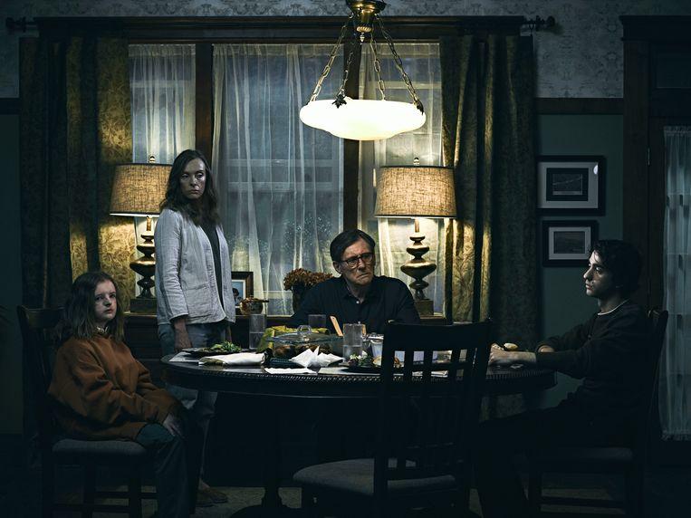 Een still uit de horrorfilm Hereditary. Beeld
