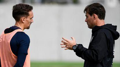 """Mulder: """"Werden er tien sprintjes gevraagd, Sven trok er twaalf. In Neerpede spreken ze nu al van de beste training ooit"""""""