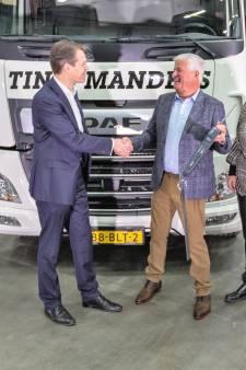 Elektrische DAF voor Tinie Manders Transport uit Geldrop