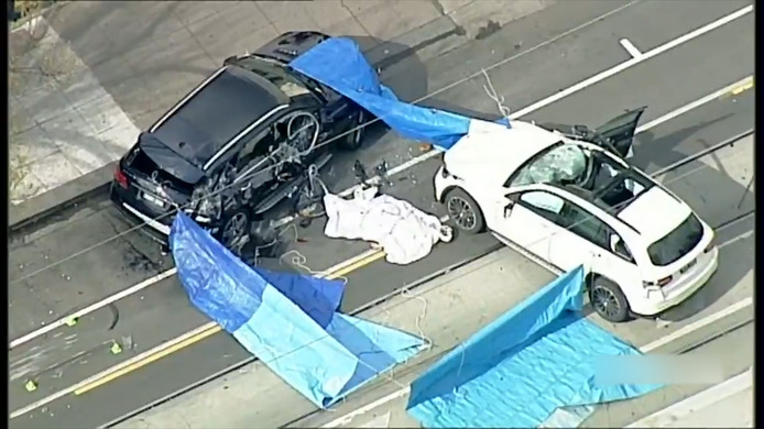 Ravage na ongeval in Melbourne.