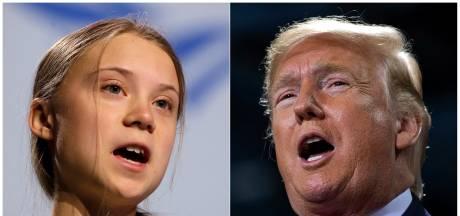 """Le tweet moqueur de Greta Thunberg à l'égard de Donald Trump: une nouvelle petite """"vengeance"""""""
