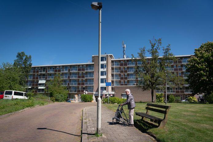 De Paasbergflat in Arnhem.