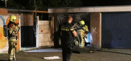 Opnieuw brand in Nijmeegse garagebox