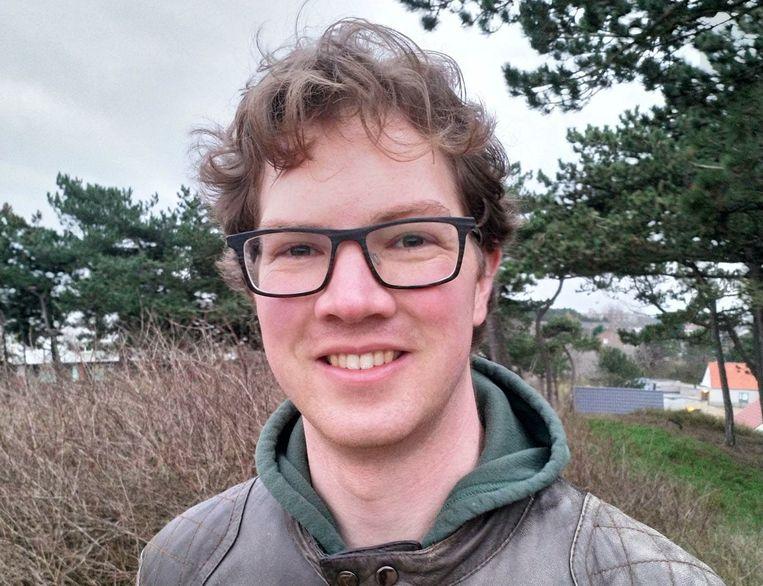 Orthopedagoog Niek Frans (30) van de Rijksuniversiteit Groningen onderzocht de voorspellende waarde van toetsen Beeld