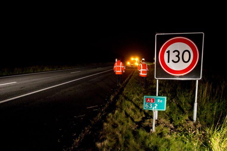 Sinds de maximumsnelheid is verhoogd is het aantal verkeersdoden ook gestegen. Beeld ANP