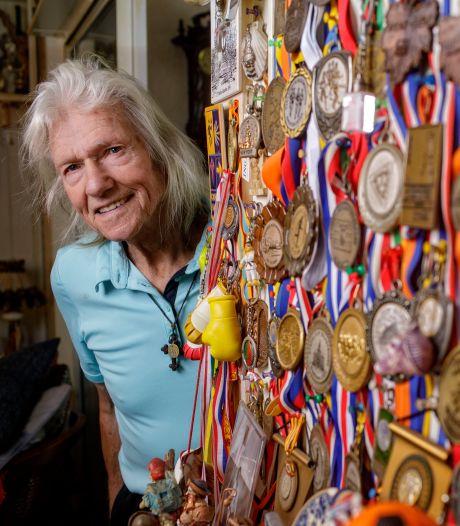 Joop van der Pas, de rennende pelgrim van Oisterwijk, op 86-jarige leeftijd overleden