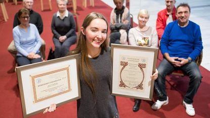 Danseres Amber ontvangt internationale erkenning