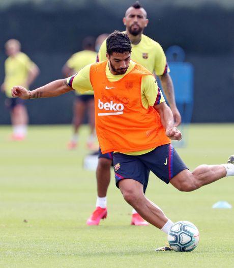 Herstelde Suárez klaar voor herstart, Messi nog onzeker