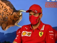 Vettel: Nooit gesprekken over toekomst bij Ferrari gevoerd