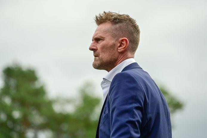 Peter Wesselink zag een slechte wedstrijd van zijn team, maar bekerde wel verder.