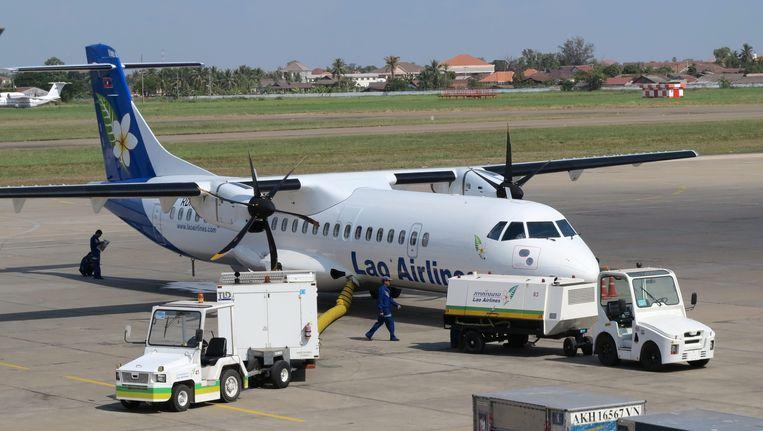 Een vliegtuig van Lao Airlines Beeld EPA