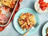 Wat Eten We vandaag: Crumble van rabarber aardbeiensyllabub