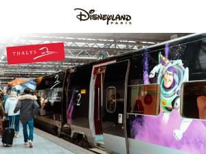 Winactie Disneyland Parijs met de Thalys voor 4 personen!