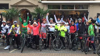 Guidon Titan nodigt iedereen uit om mee te fietsen naar Kortrijk voor Stichting Me To You