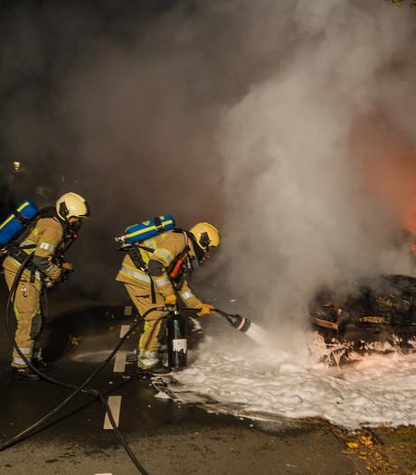 Auto's uitgebrand in Veenendaal