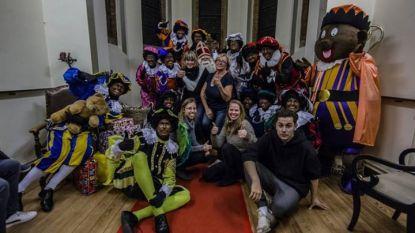 Sinterklaas maakt kinderen blij in Ryckevelde