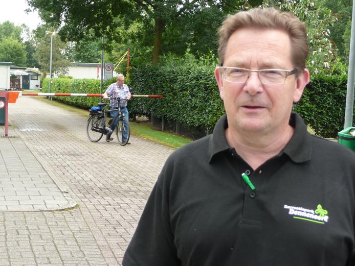 Eigenaar Piet van Erp van recreatiepark Dennenoord.