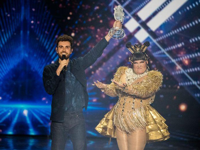 Duncan Laurence na zijn winst op het Eurovisie Songfestival.