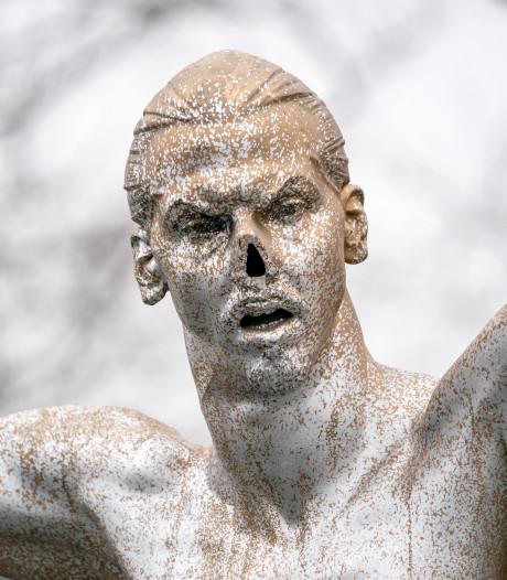 Ibrahimovic is nu ook zijn neus kwijt in Malmö