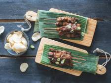 Wat Eten We Vandaag: Saté babi met pindasaus