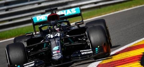 GP de Belgique: un gros crash et une nouvelle victoire autoritaire de Lewis Hamilton