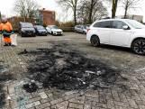 Nacht vol autobranden in Waddinxveen: op vier plekken vatten voertuigen vlam