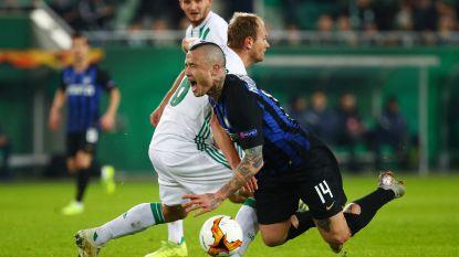 Nainggolan en Inter nemen in Wenen optie op volgende ronde
