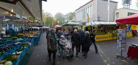 Markt in Zevenaar twee uur eerder afgelopen
