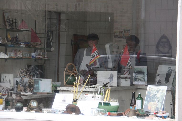 Het museum is ingericht in een vroeger viswinkeltje