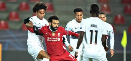 Liverpool ondanks razendsnelle goal Salah niet langs Midtjylland