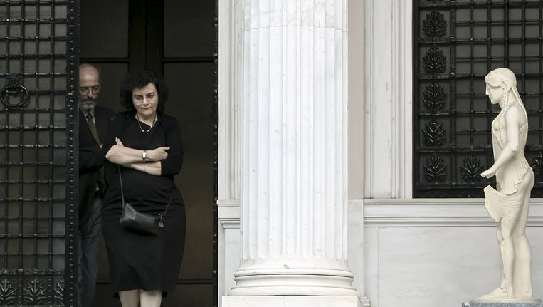 Nadia Valavani. Beeld reuters