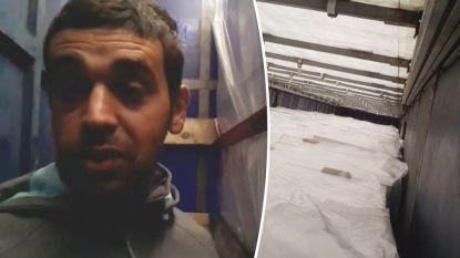 """""""Ik heb hun doodsangst gevoeld"""": Ahmad overleefde doortocht in koelwagen wel en vertelt hoe hij op nippertje gered werd"""