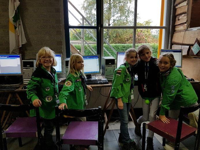 Chatten met scouts in heel Nederland.