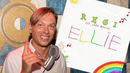 """Regi over videoclip 'Ellie': """"Mijn dochter begreep niet waarom er een ander meisje in de clip zat"""""""