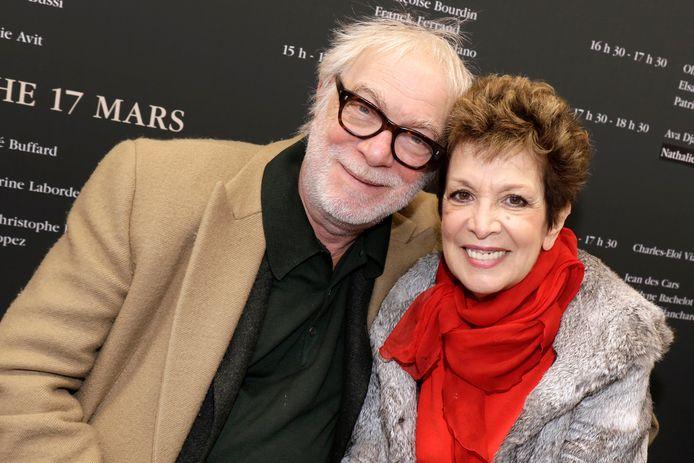 Catherine Laborde et son mari Thomas Stern