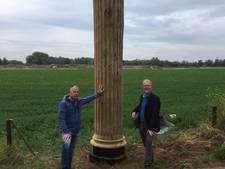 Romeinse zuil op de Eltenseweg