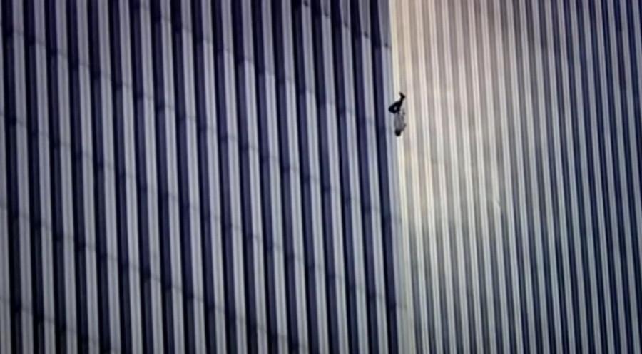 Amerikaanse Tv Serie Shockeert Met Falling Man
