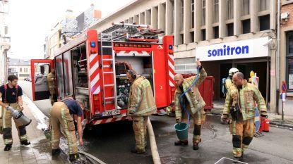 Brandje bij demonteren van oude stookolietank