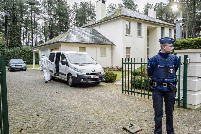De villa in Neerpelt.