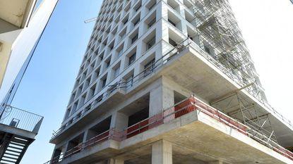 Negen verdiepingen klimmen op Turnova