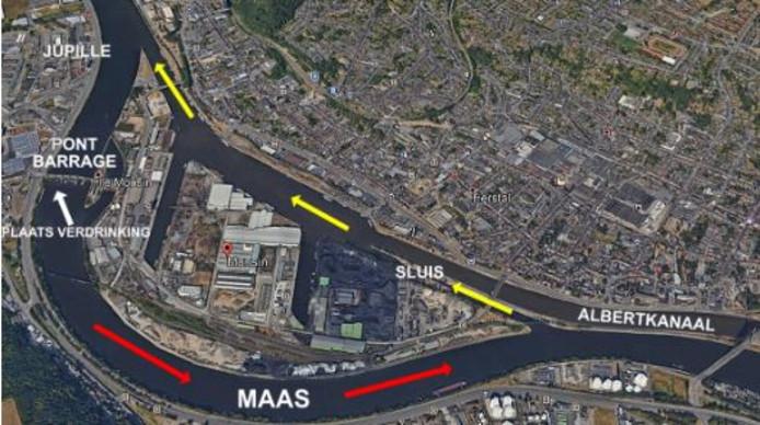 Sjaak van Pul moet bij de Pont-Barrage-de-Monsin in de Maas zijn verdronken, waarna zijn stoffelijk overschot waarschijnlijk via een schip weer stroomopwaarts via het Albertkanaal in Jupille terecht is gekomen.
