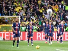 PSG moet kampioensfeest opnieuw uitstellen na zeperd tegen Nantes
