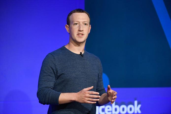 Facebook-CEO Mark Zuckerberg.